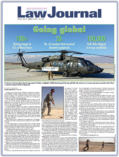 Buffalo Law Journal - Going Global